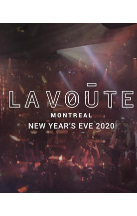 LaVoute Montreal NYE 2020 Flyer